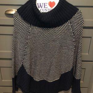 Market & Spruce poncho sweater